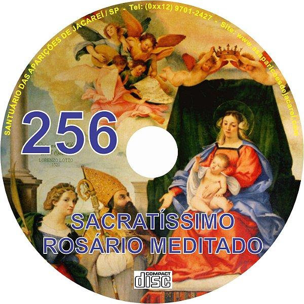 CD ROSÁRIO MEDITADO 256