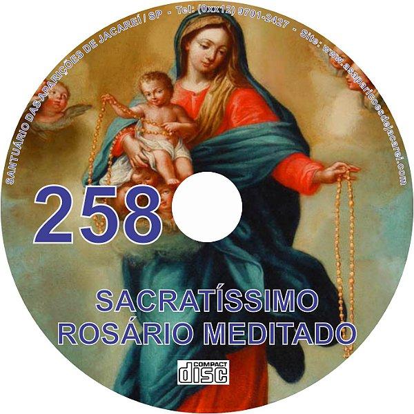 CD ROSÁRIO MEDITADO 258