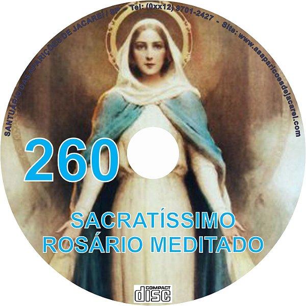 CD ROSÁRIO MEDITADO 260