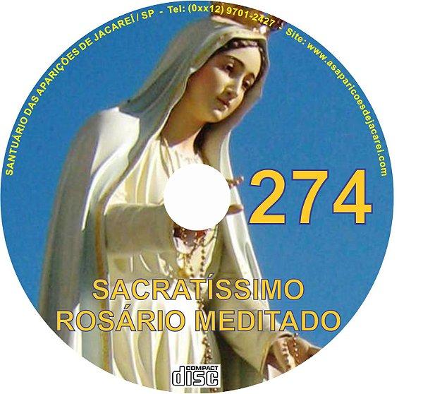 CD ROSÁRIO MEDITADO 274