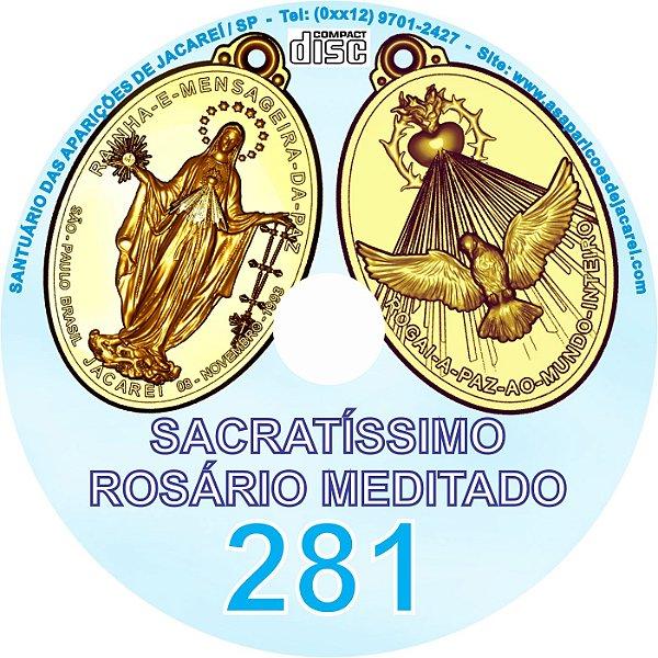 CD ROSÁRIO MEDITADO 281
