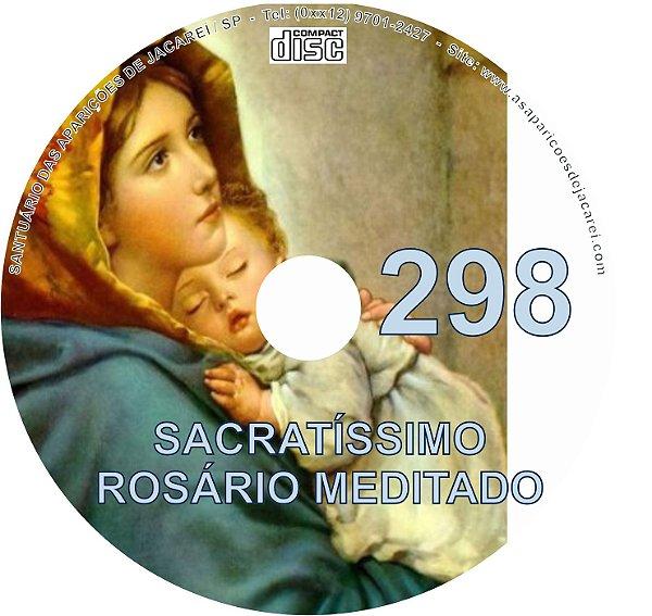 CD ROSÁRIO MEDITADO 298