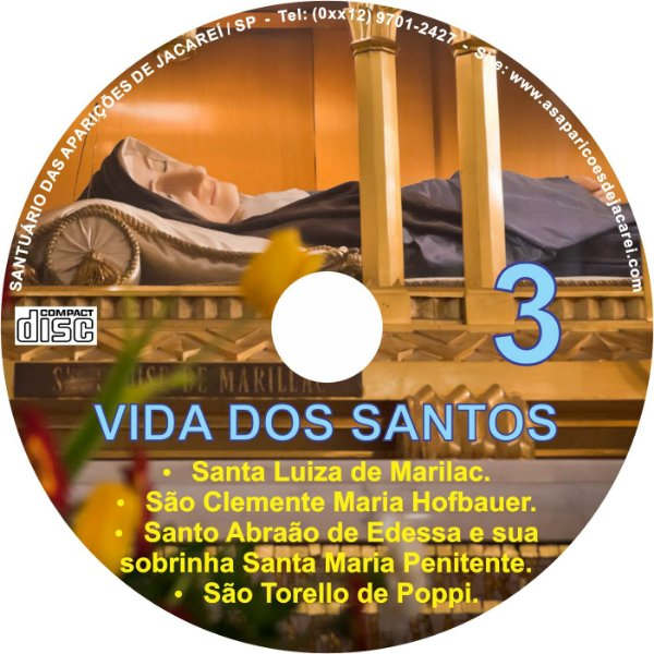 CD VIDA DOS SANTOS 03
