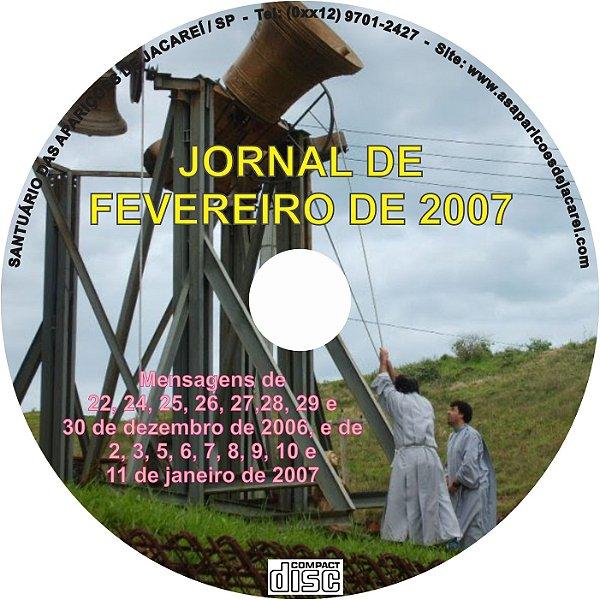 CD JORNAL DE FEVEREIRO DE 2007