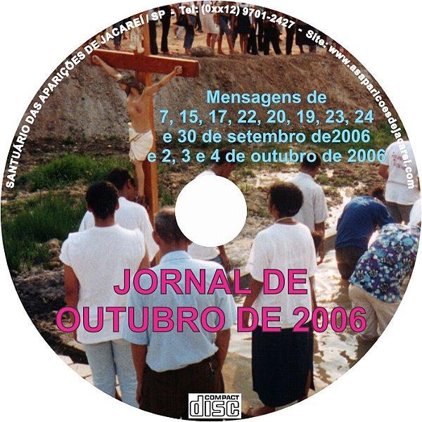 CD JORNAL DE OUTUBRO DE 2006