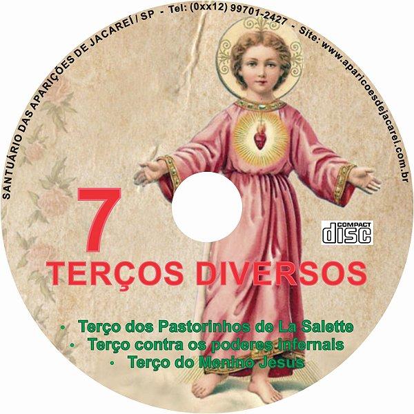 CD TERÇOS DIVERSOS 07