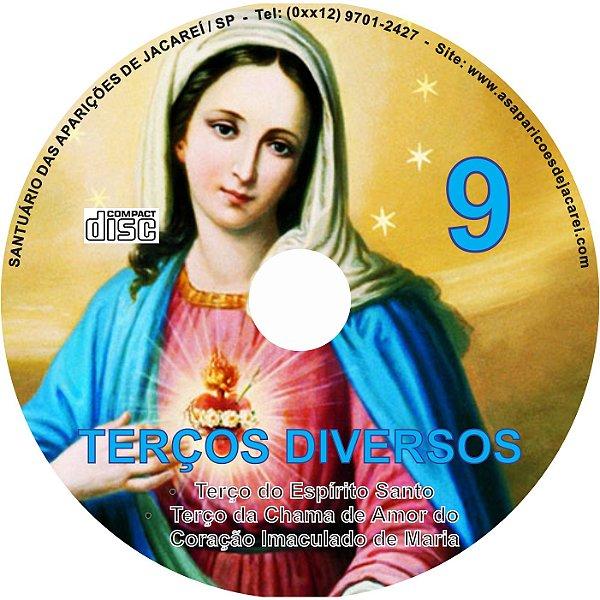 CD TERÇOS DIVERSOS 09