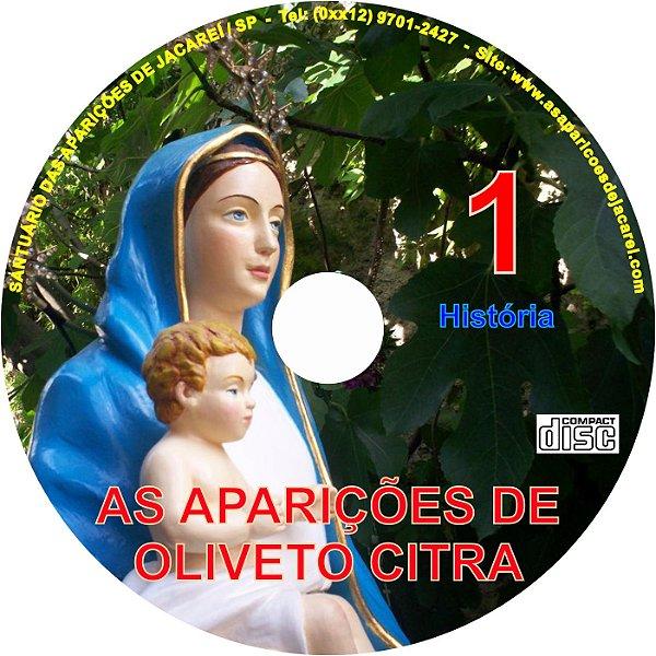 CD AS APARIÇÕES DE OLIVETO CITRA 01