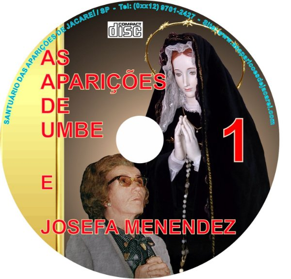 CD AS APARIÇÕES DE UMBE E JOSEFA MENENDEZ 01