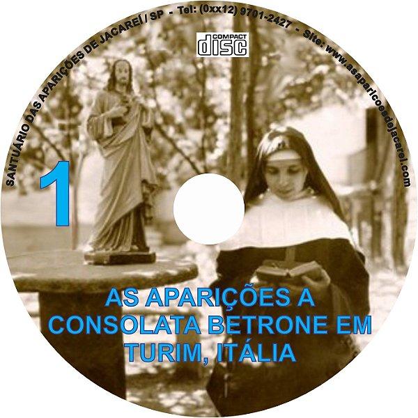 CD AS APARIÇÕES A CONSOLATA BETRONE EM TURIM, ITÁLIA 01