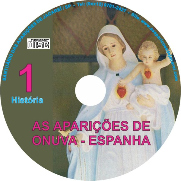 CD AS APARIÇÕES DE ONUVA - ESPANHA 01