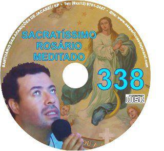 CD ROSÁRIO MEDITADO 338