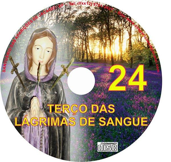 CD TERÇO DAS LÁGRIMAS DE SANGUE 24