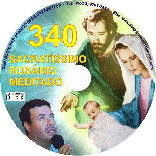CD ROSÁRIO MEDITADO 340