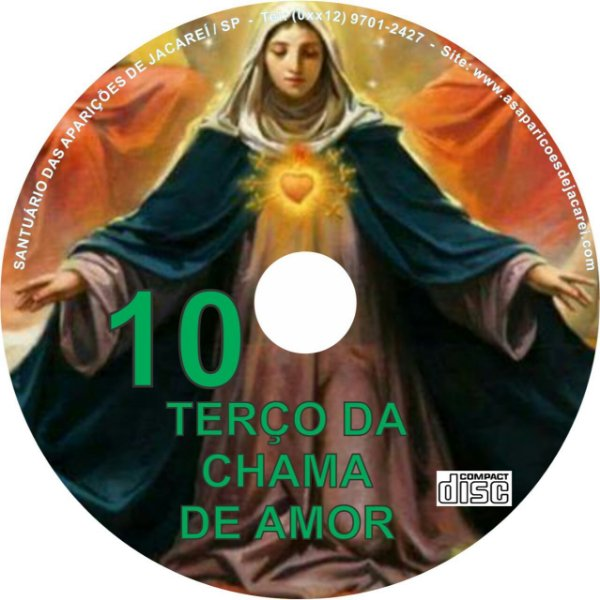 CD TERÇO DA CHAMA DE AMOR 10
