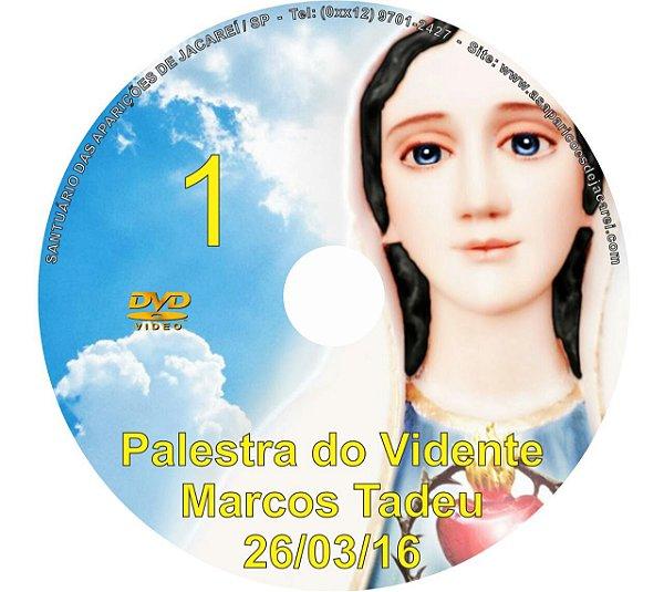 DVD 001-PALESTRA DO VIDENTE MARCOS TADEU 26/03/16