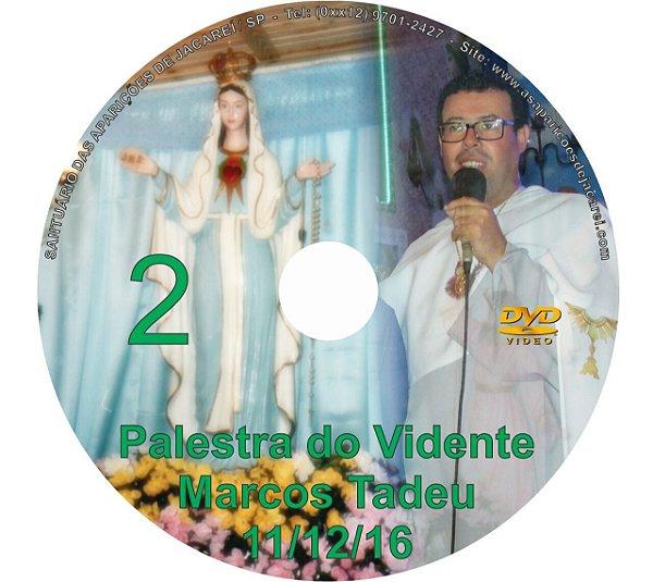 DVD 002-PALESTRA DO VIDENTE MARCOS TADEU 11/12/16