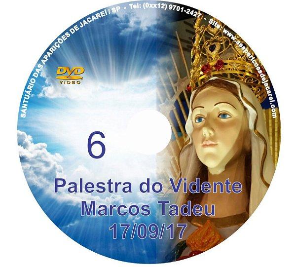 DVD 006-PALESTRA DO VIDENTE MARCOS TADEU 17/09/17
