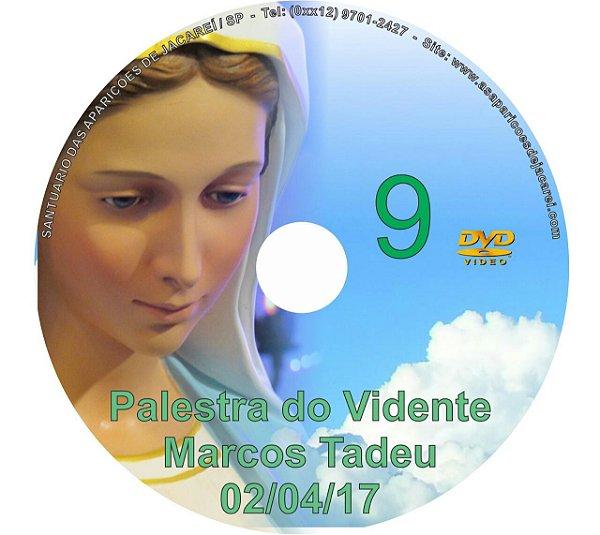DVD 009-PALESTRA DO VIDENTE MARCOS TADEU 02/04/17