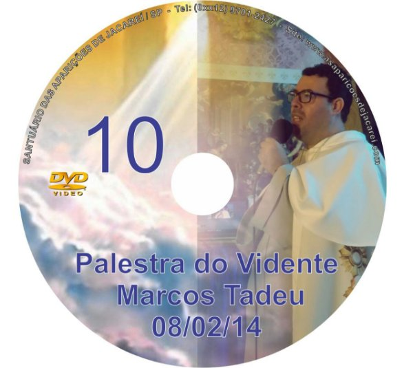 DVD 010-PALESTRA DO VIDENTE MARCOS TADEU 08/02/14