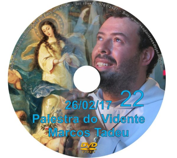 DVD 022- PALESTRA DO VIDENTE MARCOS TADEU 26/02/17