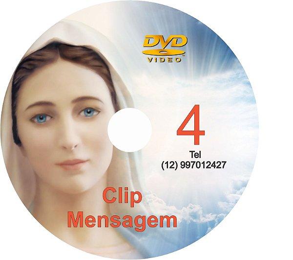 DVD CLIPS DE MENSAGENS DE NOSSA SENHORA 4