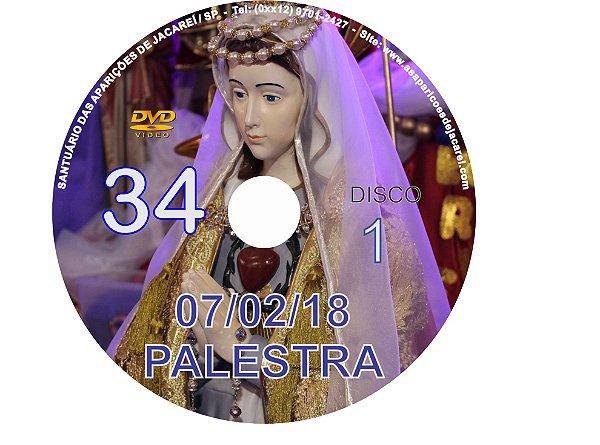DVD DA PALESTRA DE 7.2.2018