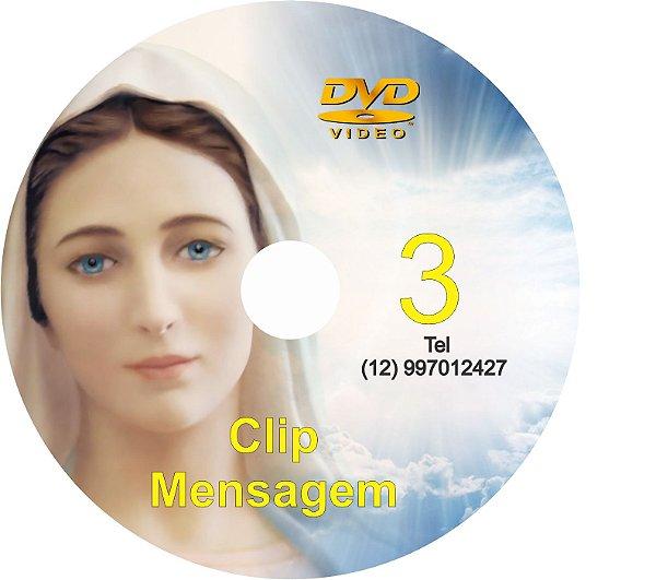 DVD CLIPS DE MENSAGENS DE NOSSA SENHORA 3