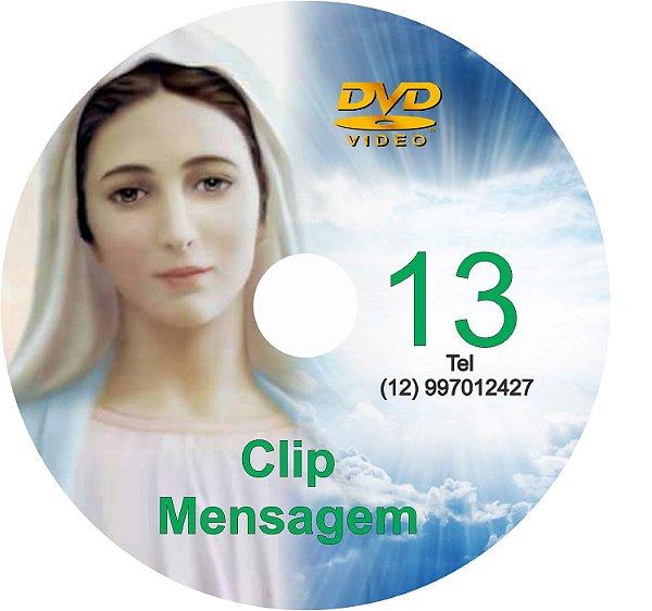 DVD CLIPS DE MENSAGENS DE NOSSA SENHORA 13