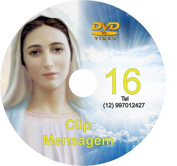 DVD CLIP DE MENSAGENS DE NOSSA SENHORA 016