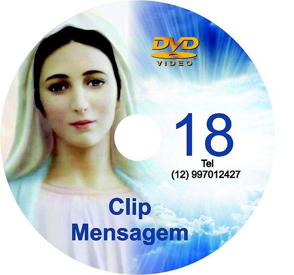 DVD CLIP DE MENSAGENS DE NOSSA SENHORA 018