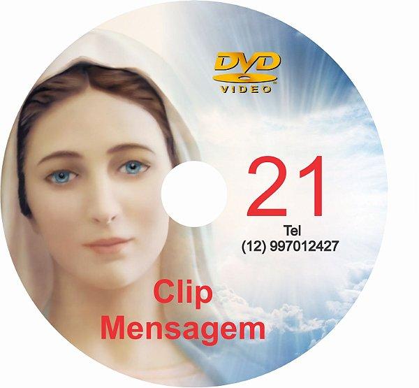 DVD CLIPS DE MENSAGENS DE NOSSA SENHORA 21