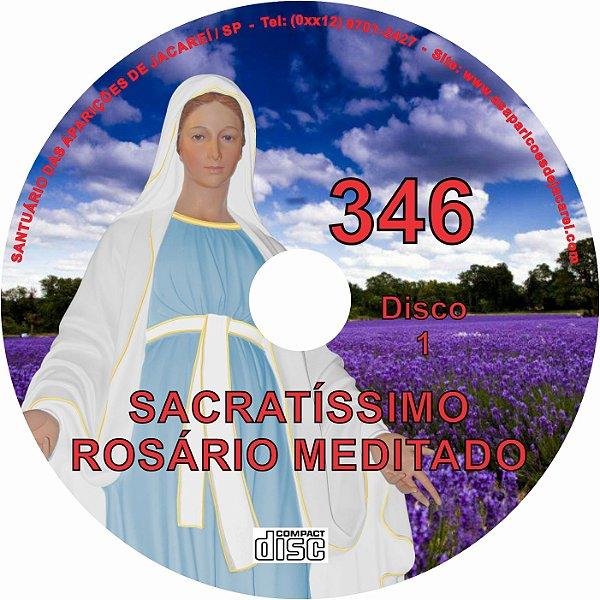 CD ROSÁRIO MEDITADO 346