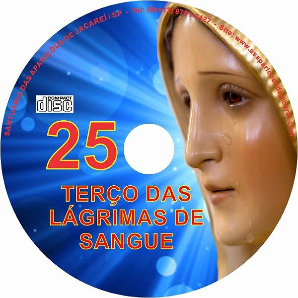 CD TERÇO DAS LAGRIMAS DE SANGUE 25