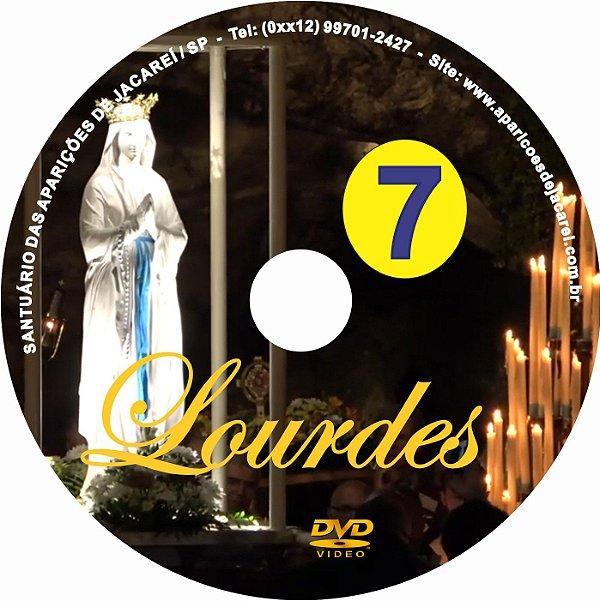 DVD- FILME AS APARIÇÕES DE LOURDES 7