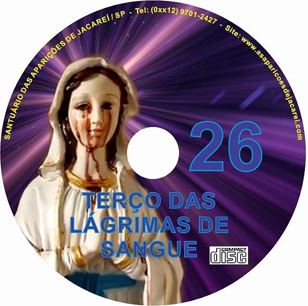 CD TERÇO DAS LAGRIMAS DE SANGUE 26