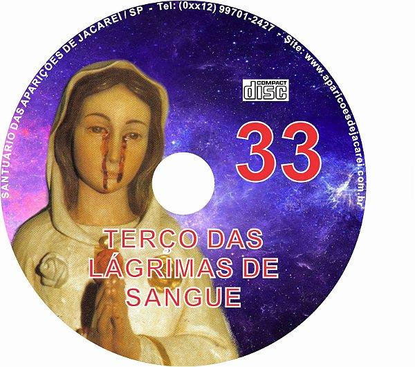 CD TERÇO DAS LAGRIMAS DE SANGUE 33
