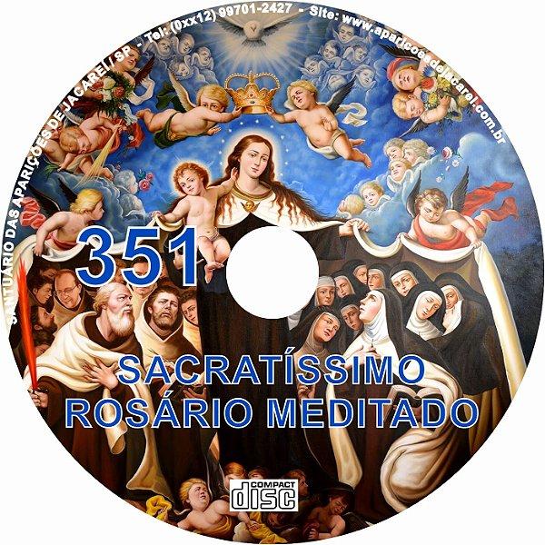CD ROSÁRIO MEDITADO 351