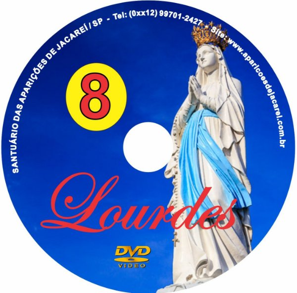 DVD- FILME AS APARIÇÕES DE LOURDES 8