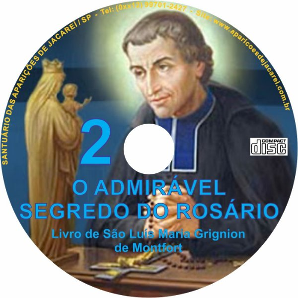 CD O ADMIRAVEL SEGREDO DO ROSÁRIO 2