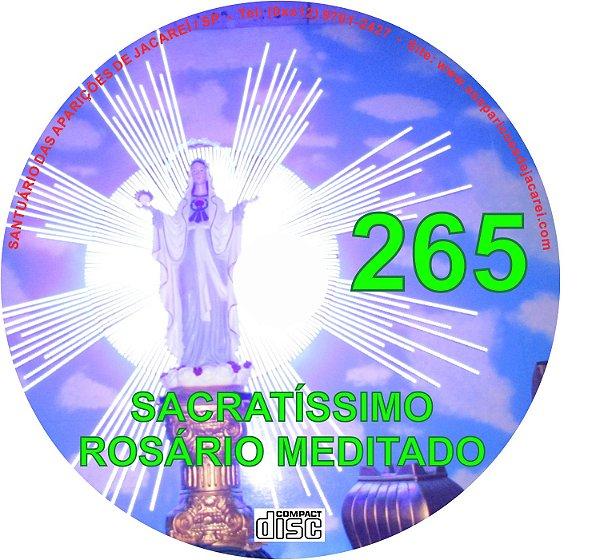 CD ROSÁRIO MEDITADO 265