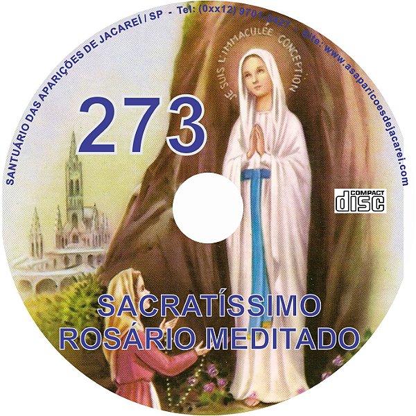 CD ROSÁRIO MEDITADO 273