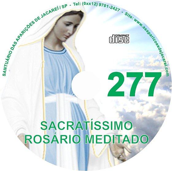 CD ROSÁRIO MEDITADO 277