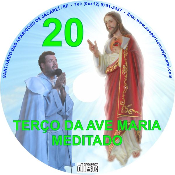 CD TERÇO DA AVE MARIA MEDITADO 20