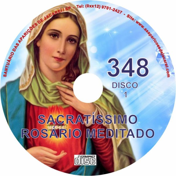 CD ROSÁRIO MEDITADO 348