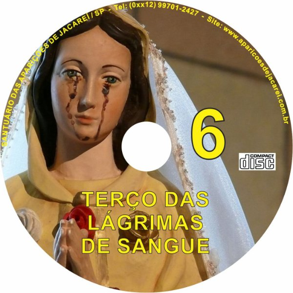 CD TERÇO DAS LAGRIMAS DE SANGUE 6