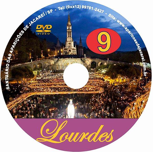 DVD- FILME AS APARIÇÕES DE LOURDES 9