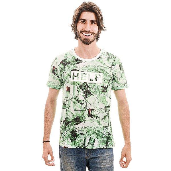 Camiseta Verde Pet Help