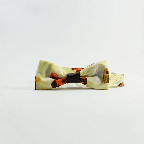 Gravata Borboleta Máquina Fotográfica