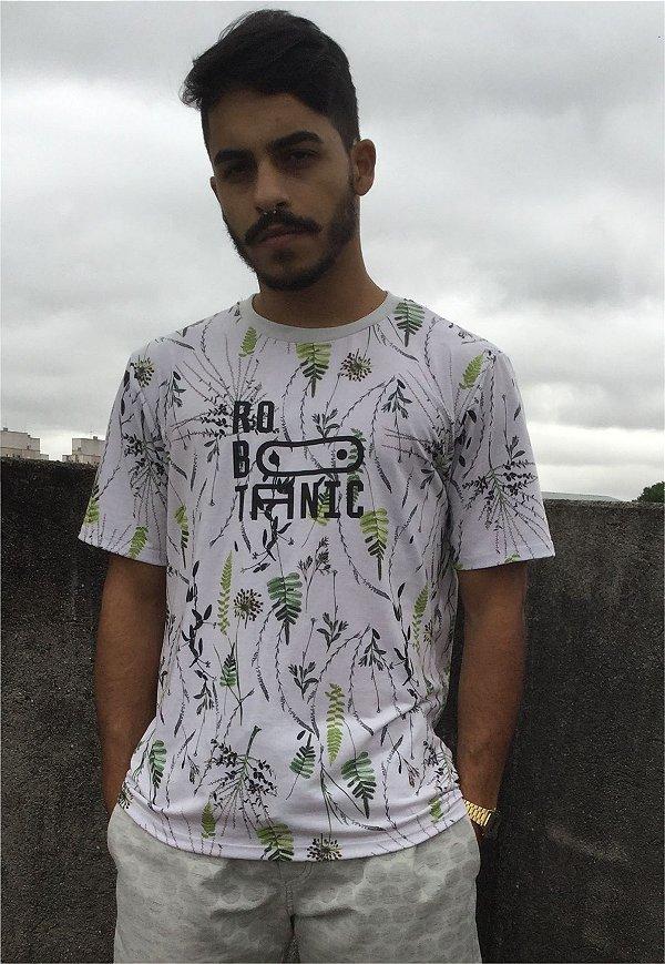 Camiseta Estampada Robotanic